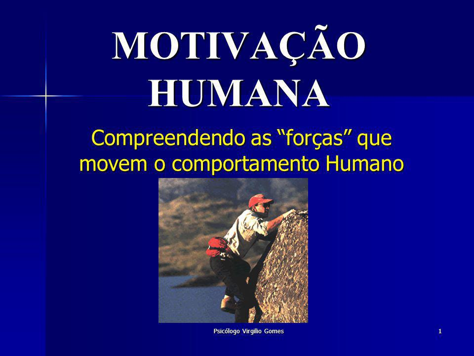 Compreendendo as forças que movem o comportamento Humano