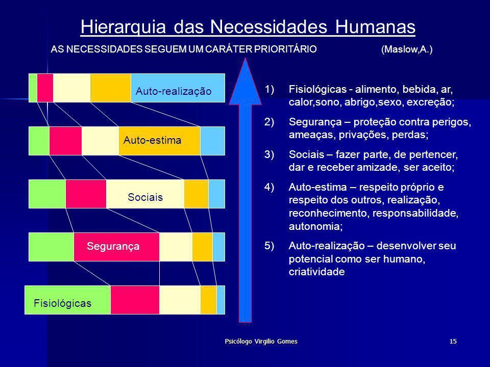 Hierarquia das Necessidades Humanas