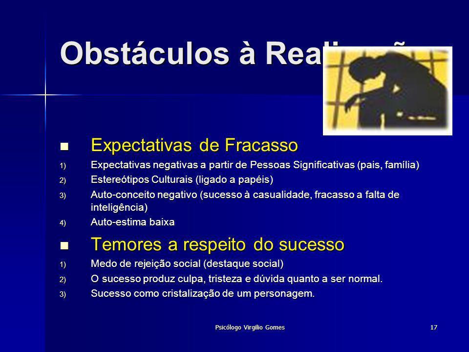 Obstáculos à Realização