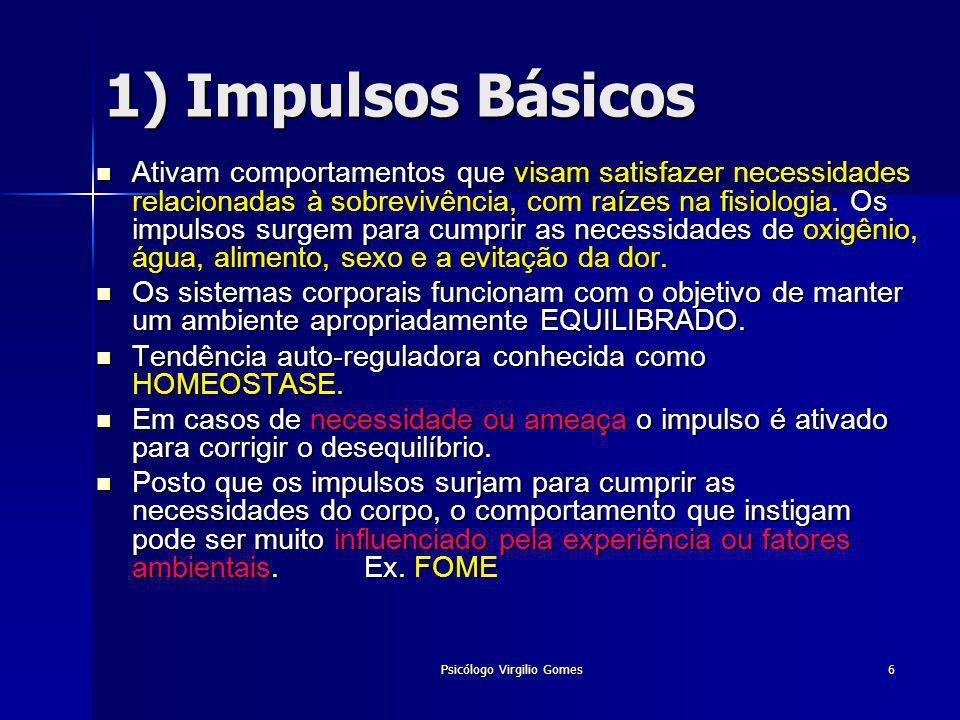 Psicólogo Virgilio Gomes