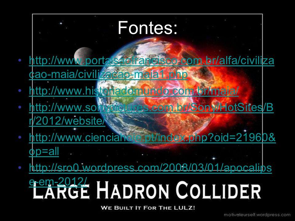 Fontes: http://www.portalsaofrancisco.com.br/alfa/civilizacao-maia/civilizacao-maia1.php. http://www.historiadomundo.com.br/maia/
