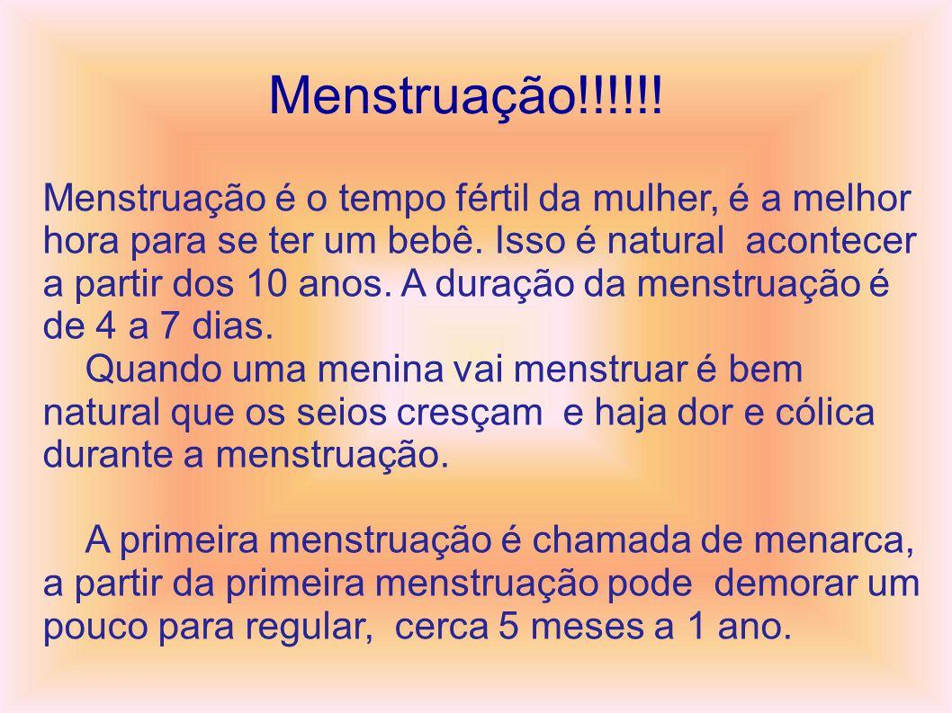 Menstruação!!!!!!
