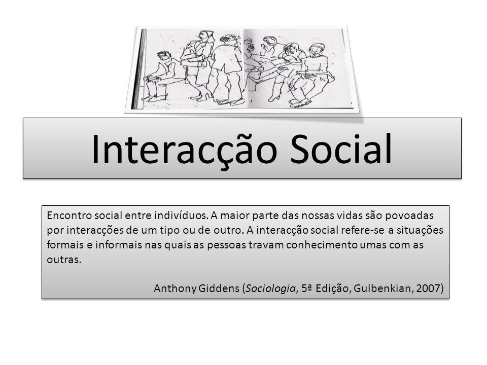 Interacção Social