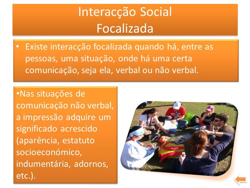 Interacção Social Focalizada
