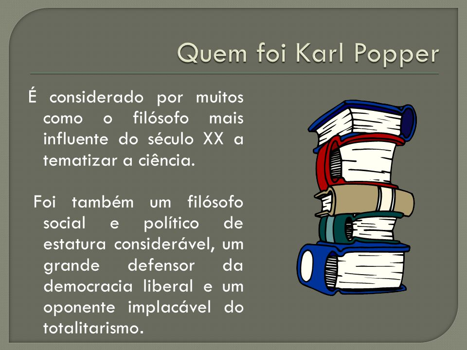 Quem foi Karl Popper