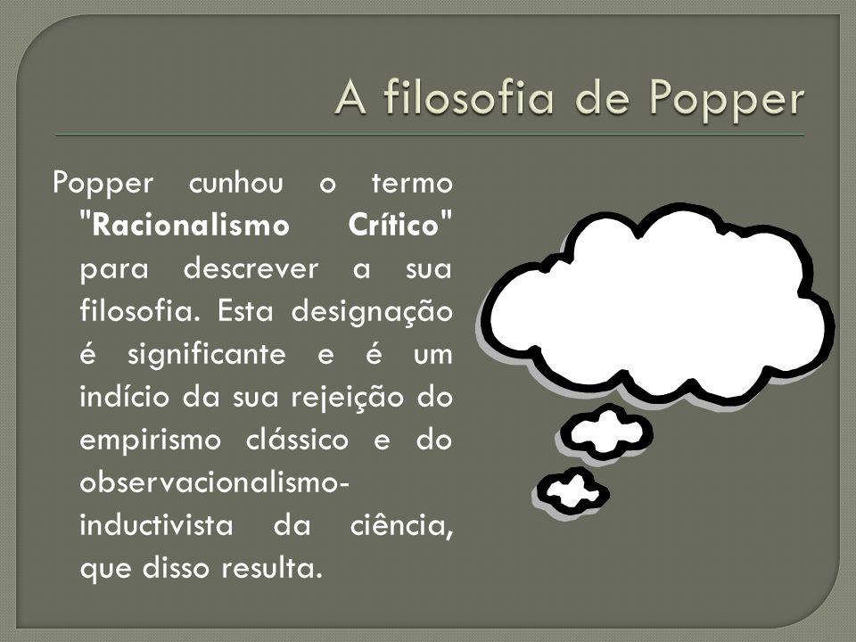 A filosofia de Popper