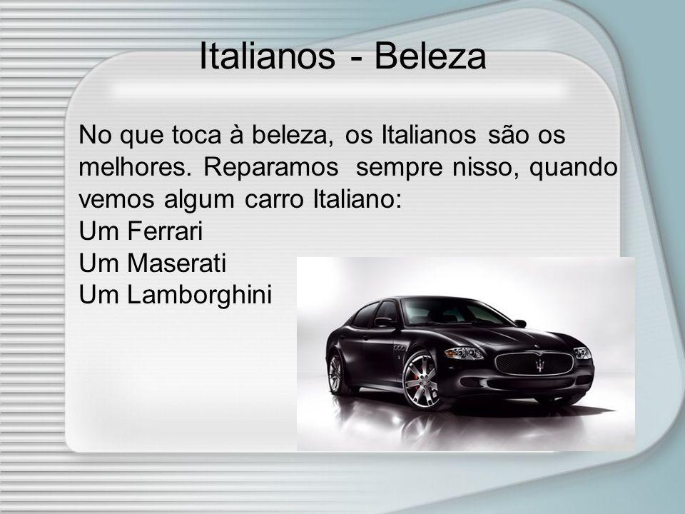 Italianos - Beleza