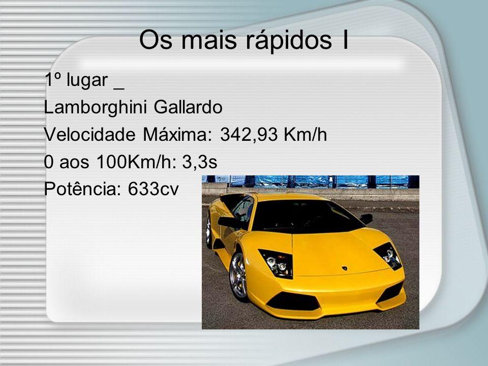 Os mais rápidos I 1º lugar _ Lamborghini Gallardo