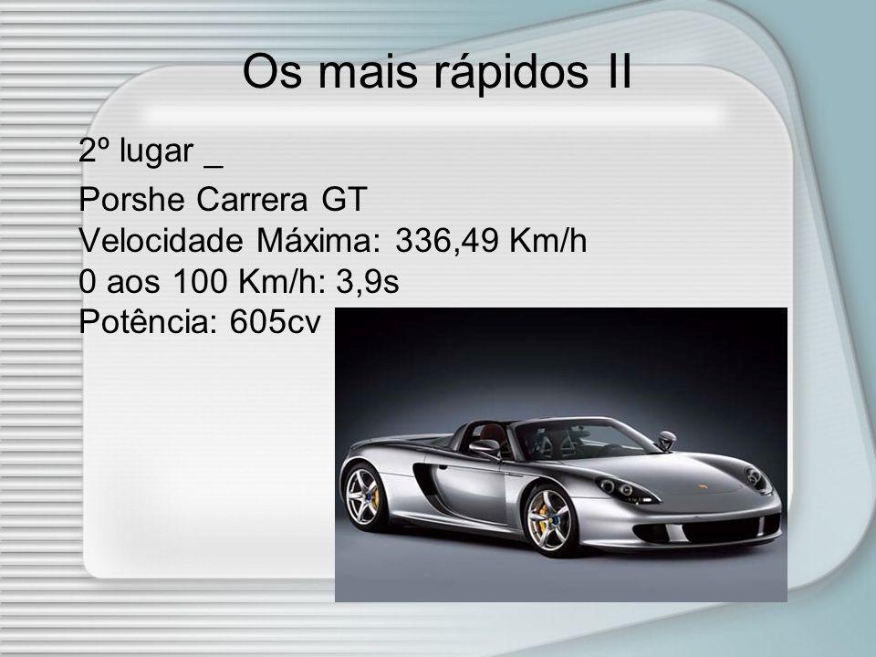 Os mais rápidos II 2º lugar _