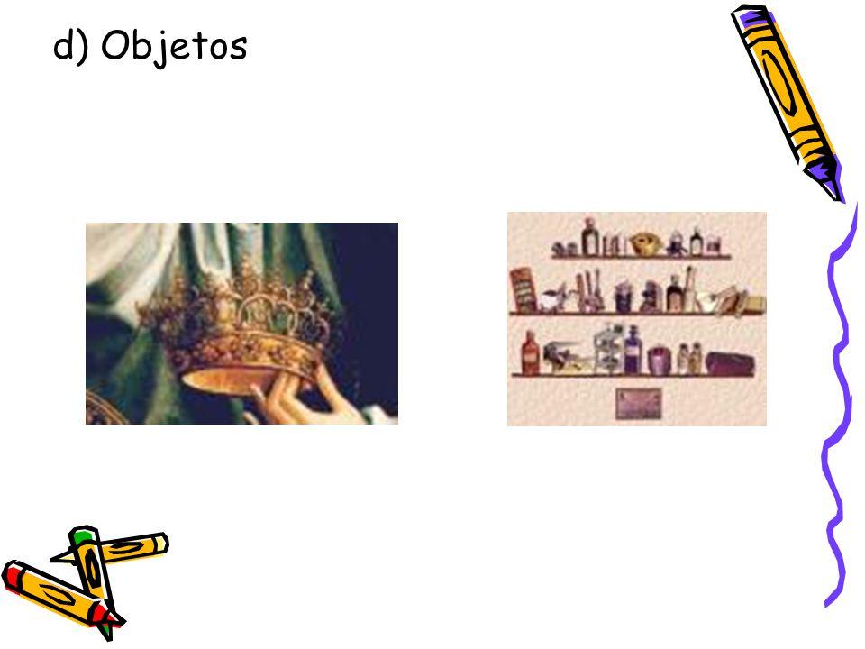 d) Objetos
