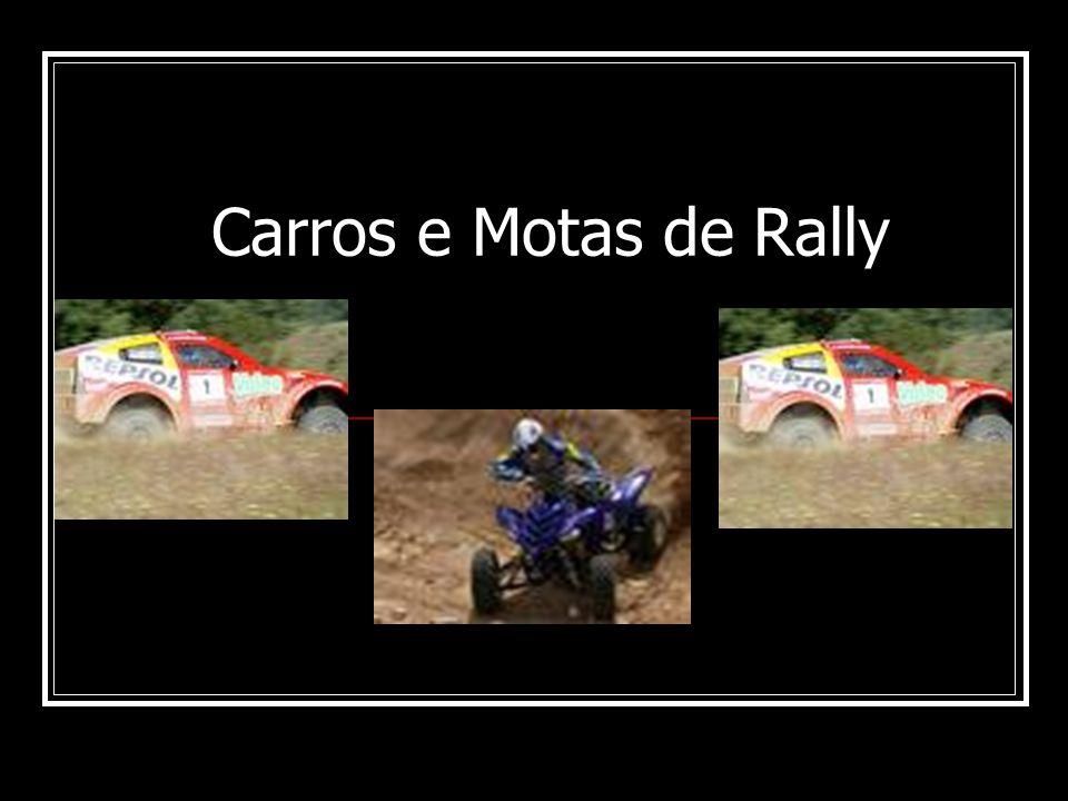 Carros e Motas de Rally