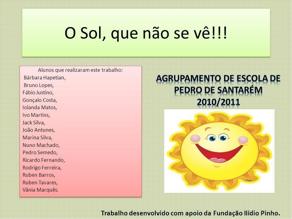 Agrupamento de escola de Pedro de Santarém 2010/2011