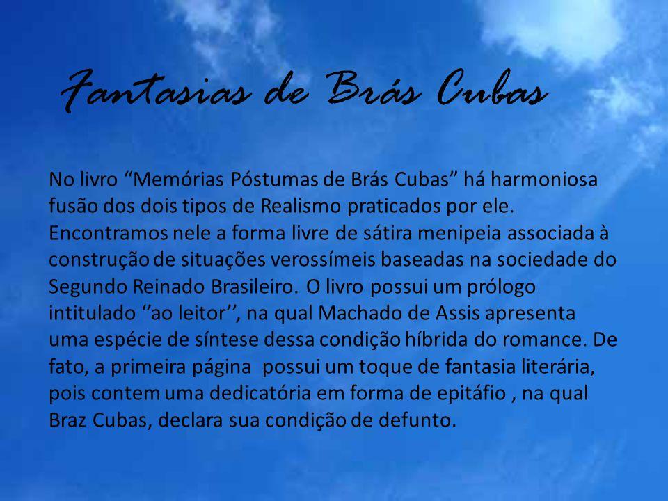 Fantasias de Brás Cubas
