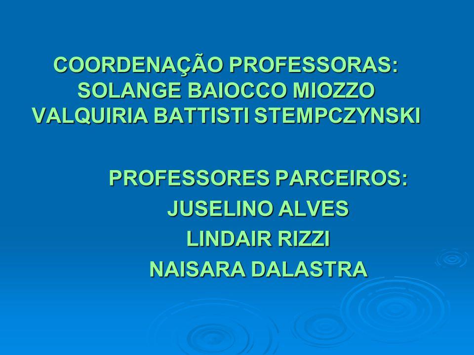 PROFESSORES PARCEIROS: