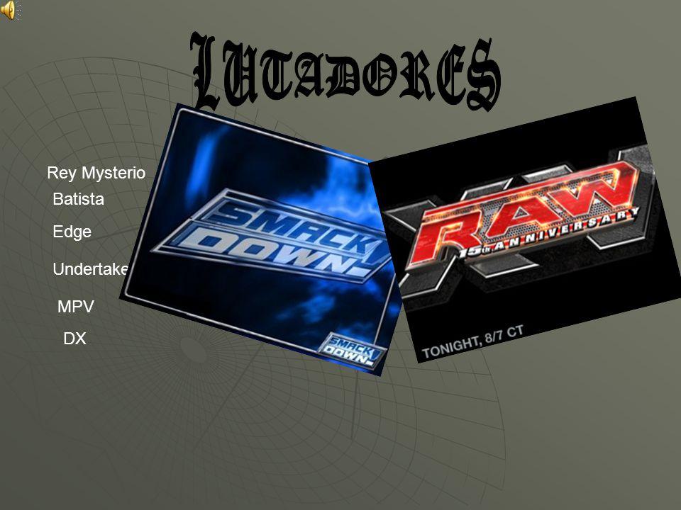 LUTADORES Rey Mysterio Batista Edge Undertaker MPV DX(Equipa) DX