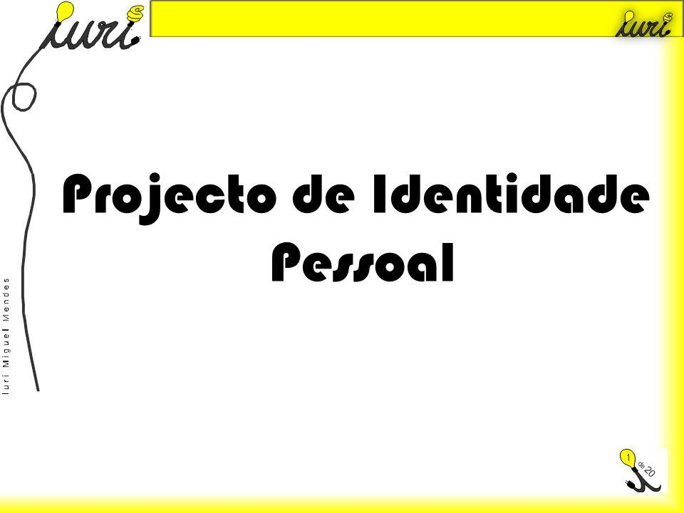 Projecto de Identidade