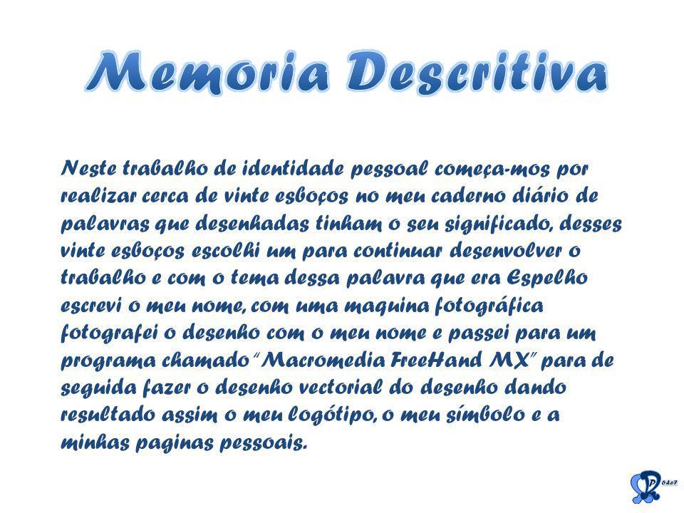 Memoria Descritiva