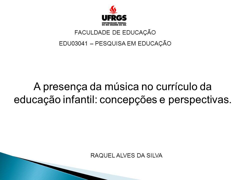 EDU03041 – PESQUISA EM EDUCAÇÃO