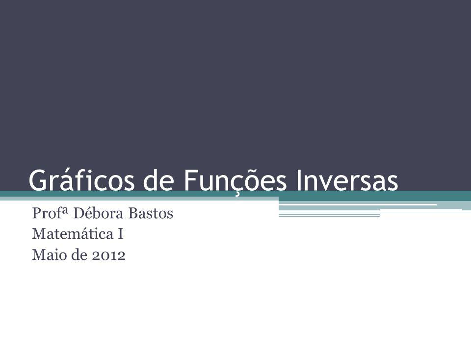 Gráficos de Funções Inversas