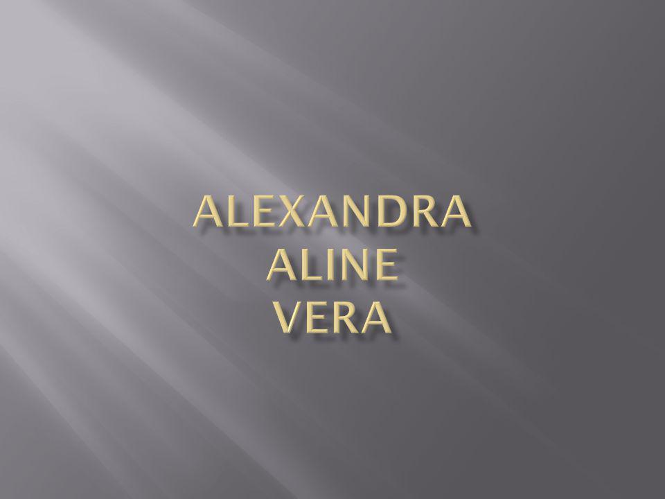 ALEXANDRA ALINE VERA