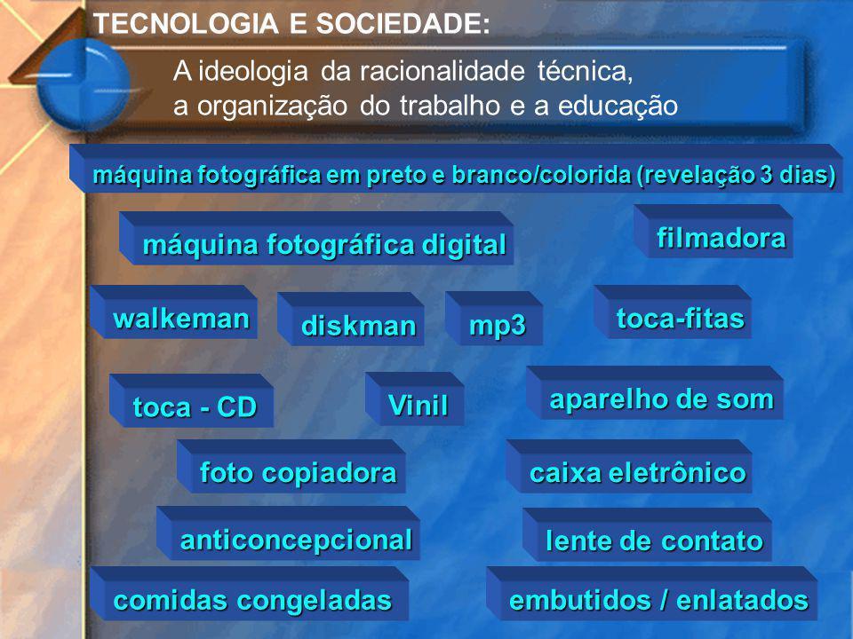 TECNOLOGIA E SOCIEDADE: A ideologia da racionalidade técnica,