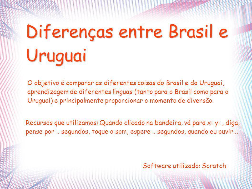 Diferenças entre Brasil e Uruguai