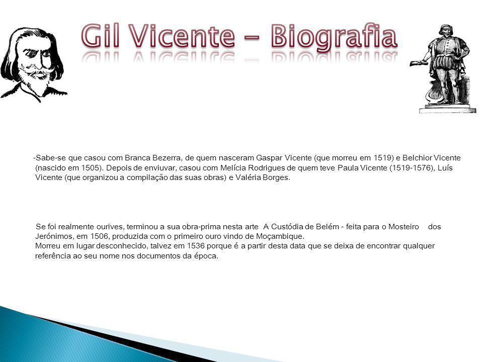 Gil Vicente - Biografia