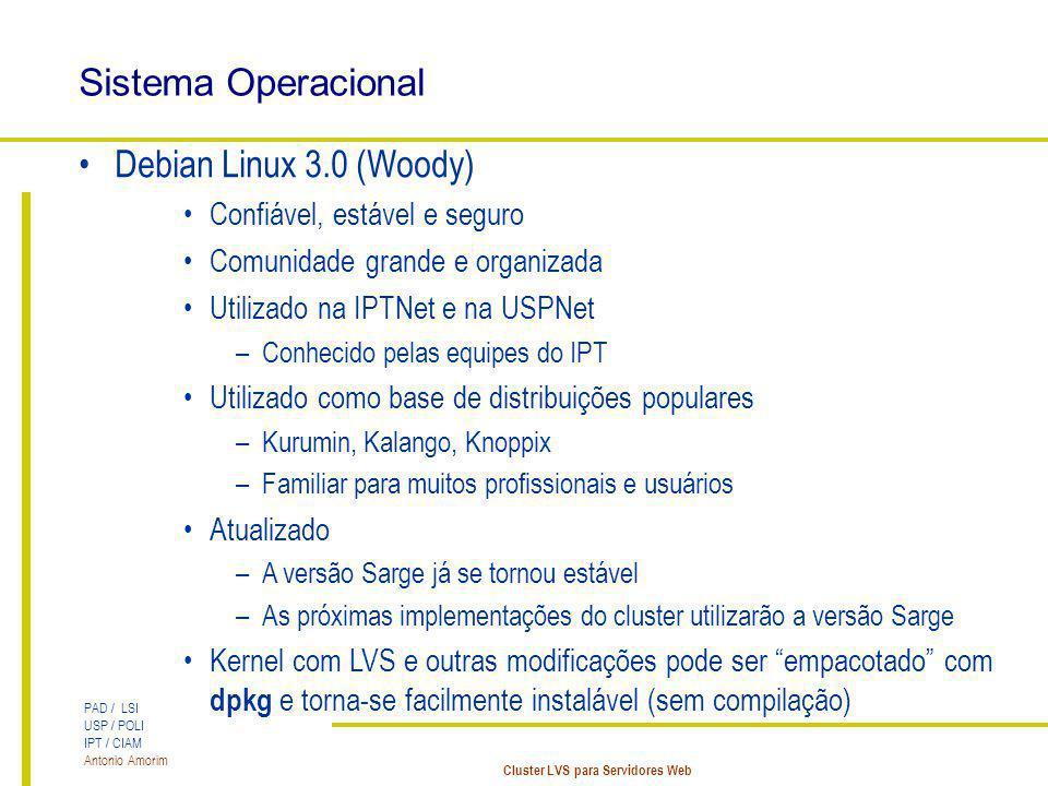 Sistema Operacional Debian Linux 3.0 (Woody)