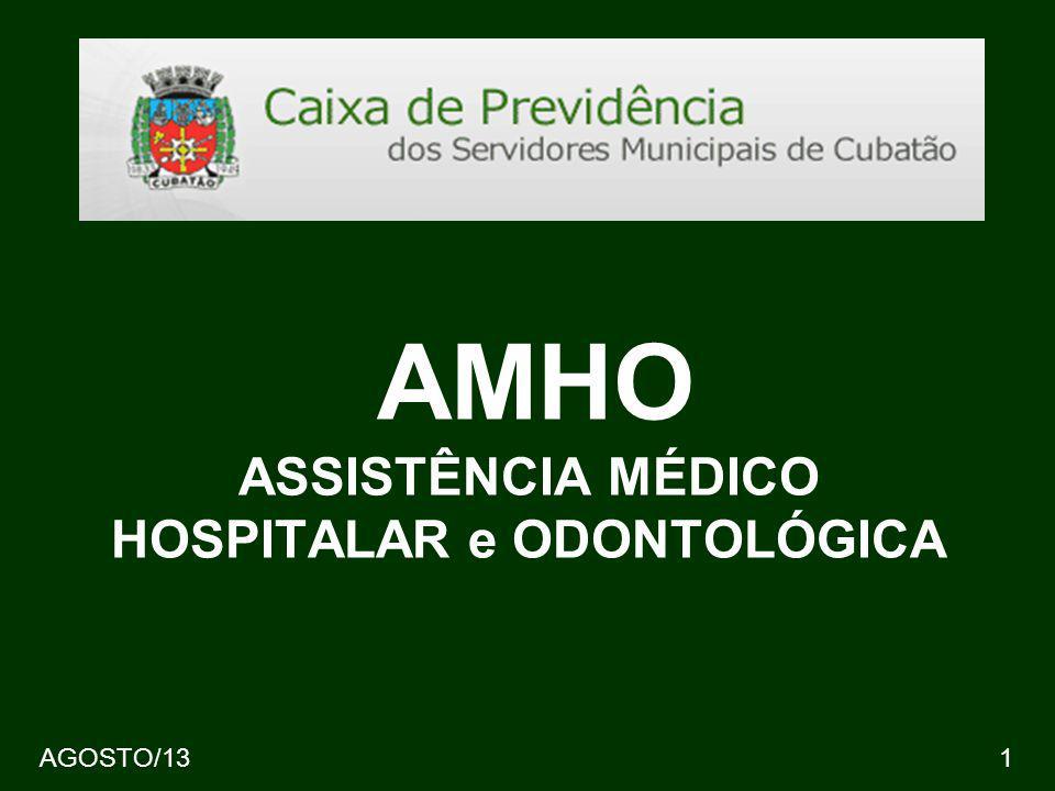 AMHO ASSISTÊNCIA MÉDICO HOSPITALAR e ODONTOLÓGICA