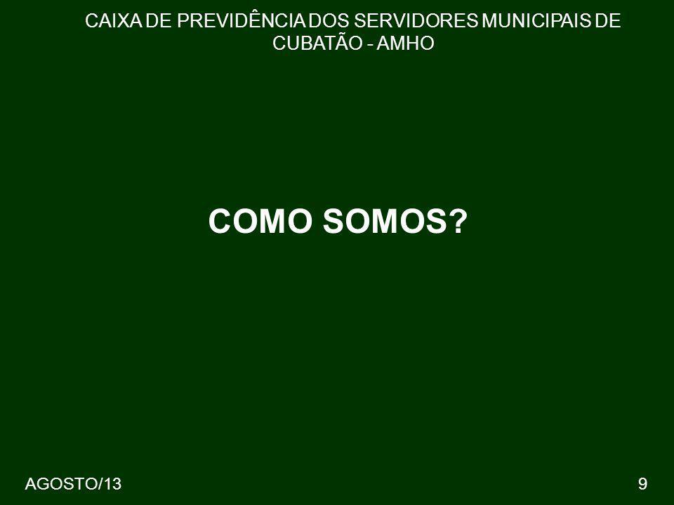 CAIXA DE PREVIDÊNCIA DOS SERVIDORES MUNICIPAIS DE CUBATÃO - AMHO