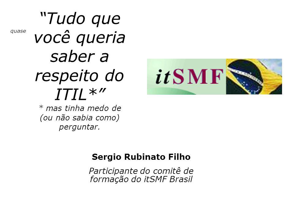 Participante do comitê de formação do itSMF Brasil