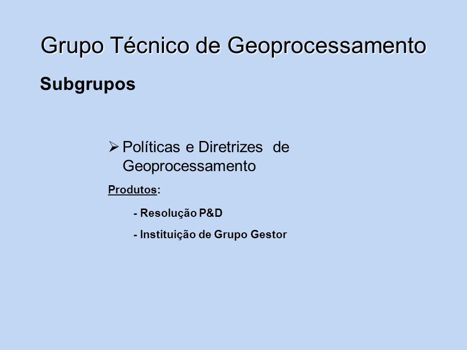 Grupo Técnico de Geoprocessamento