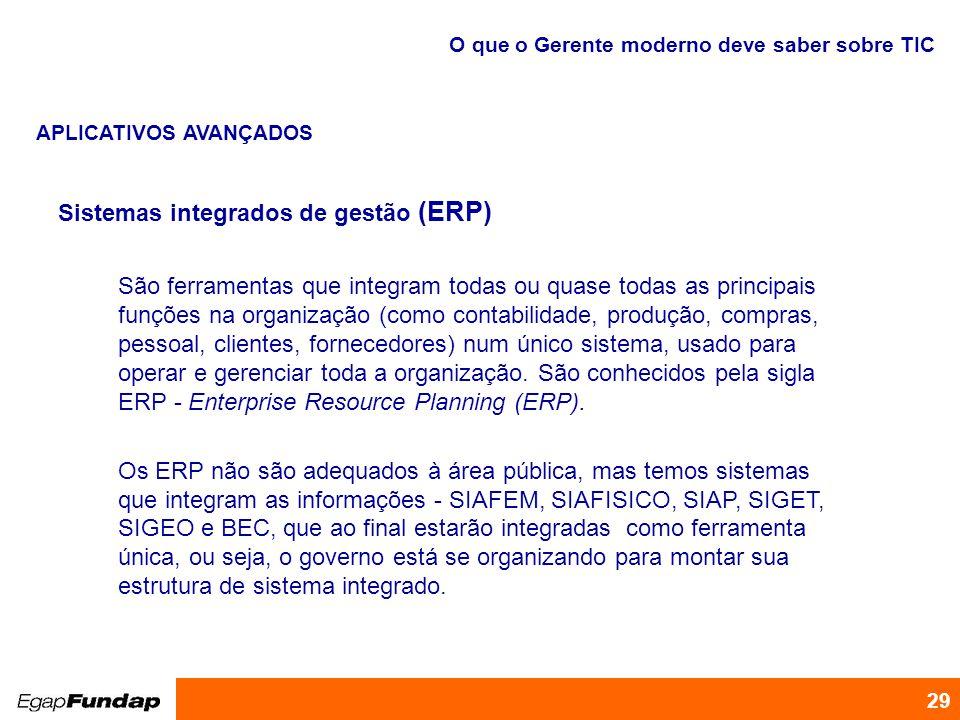 Sistemas integrados de gestão (ERP)