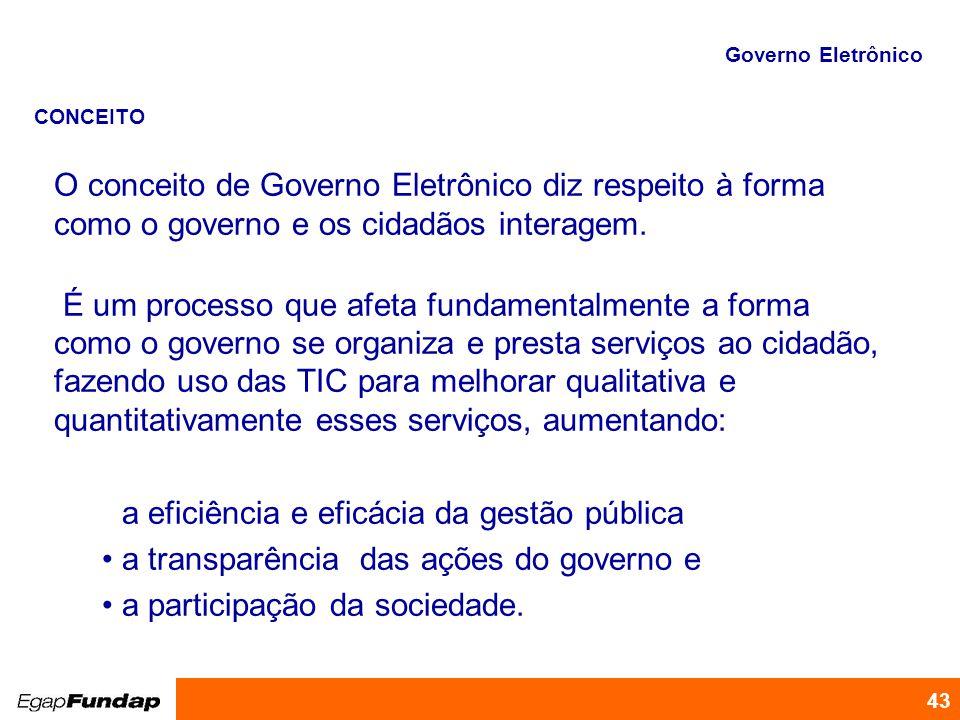 a eficiência e eficácia da gestão pública
