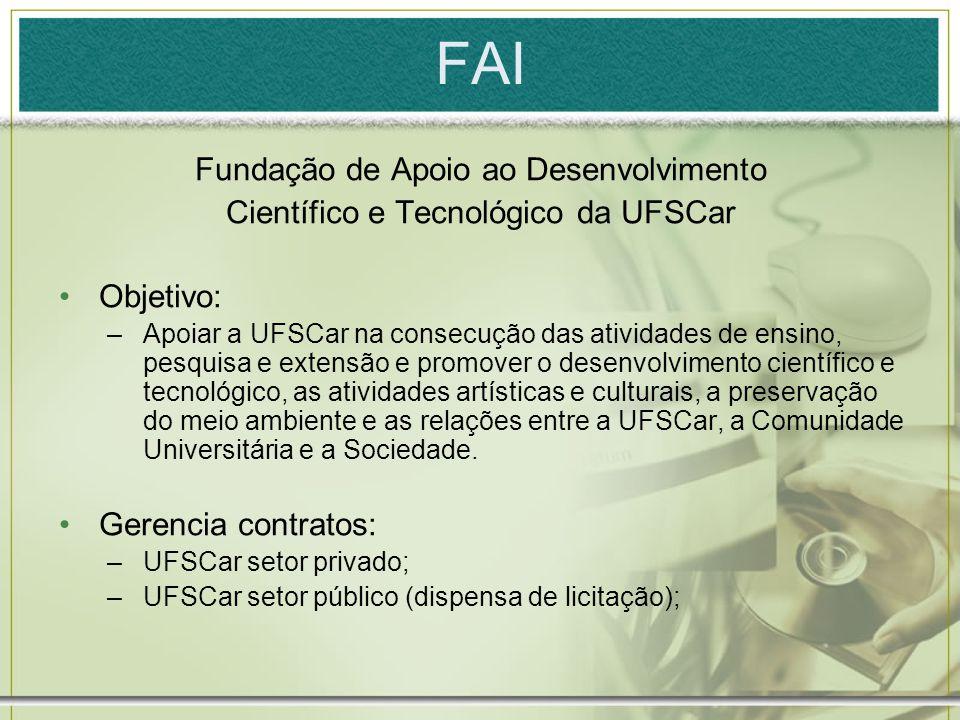 FAI Fundação de Apoio ao Desenvolvimento
