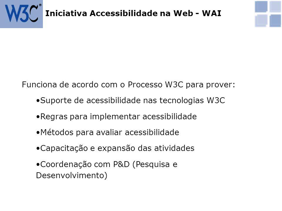 Iniciativa Accessibilidade na Web - WAI