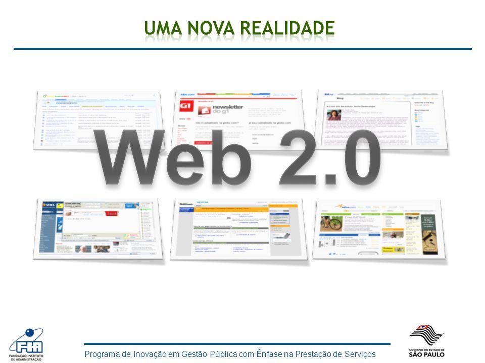 Uma nova realidade Web 2.0