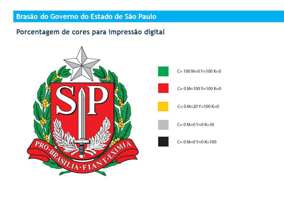 Brasão do Governo do Estado de São Paulo