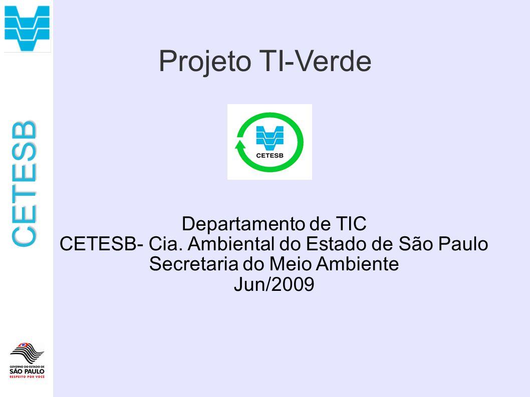Projeto TI-Verde Departamento de TIC
