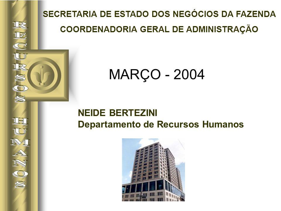 NEIDE BERTEZINI Departamento de Recursos Humanos