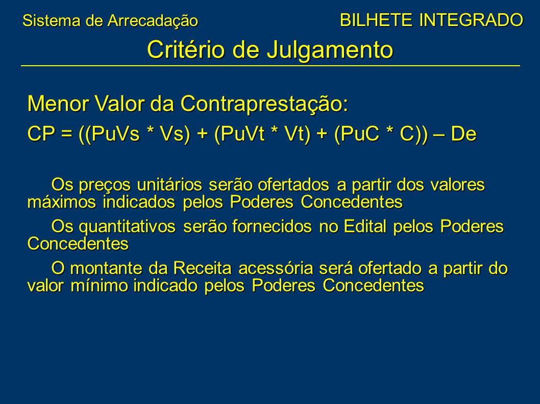 Critério de Julgamento