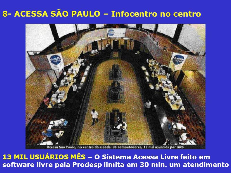 8- ACESSA SÃO PAULO – Infocentro no centro