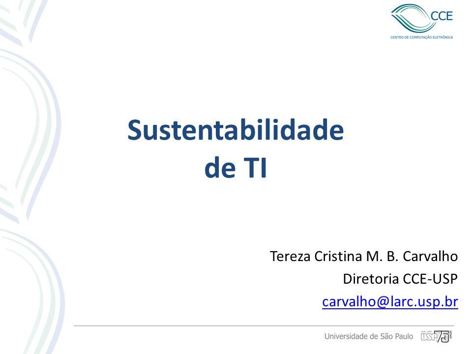 Sustentabilidade de TI