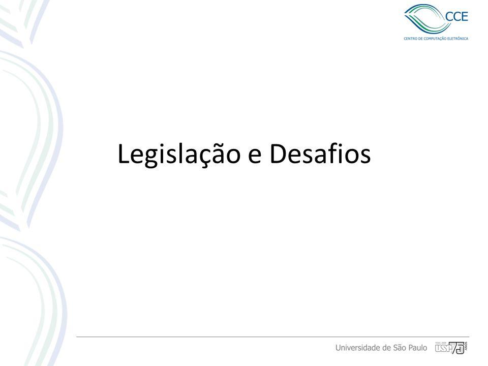 Legislação e Desafios