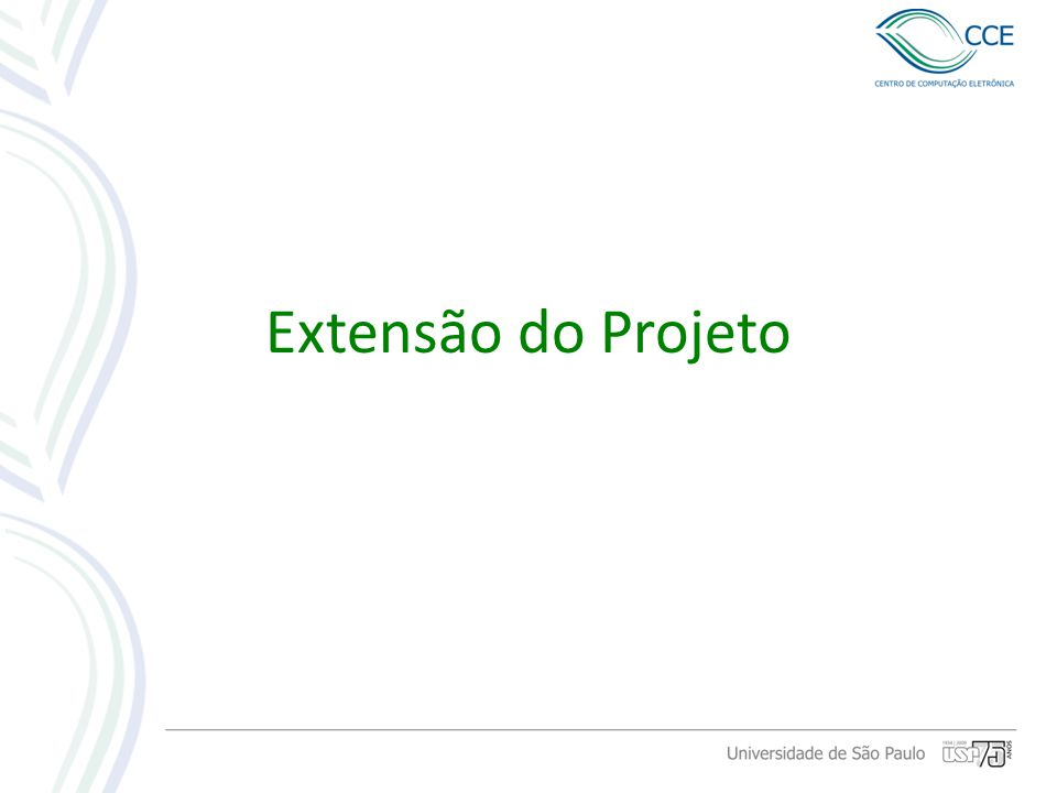 Extensão do Projeto