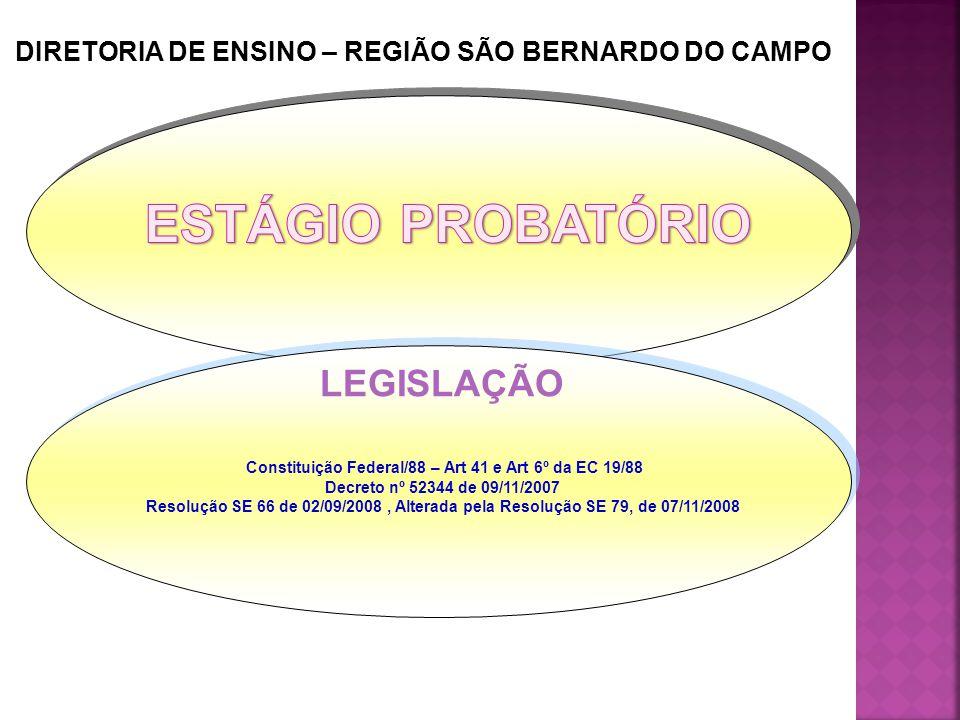 DIRETORIA DE ENSINO – REGIÃO SÃO BERNARDO DO CAMPO