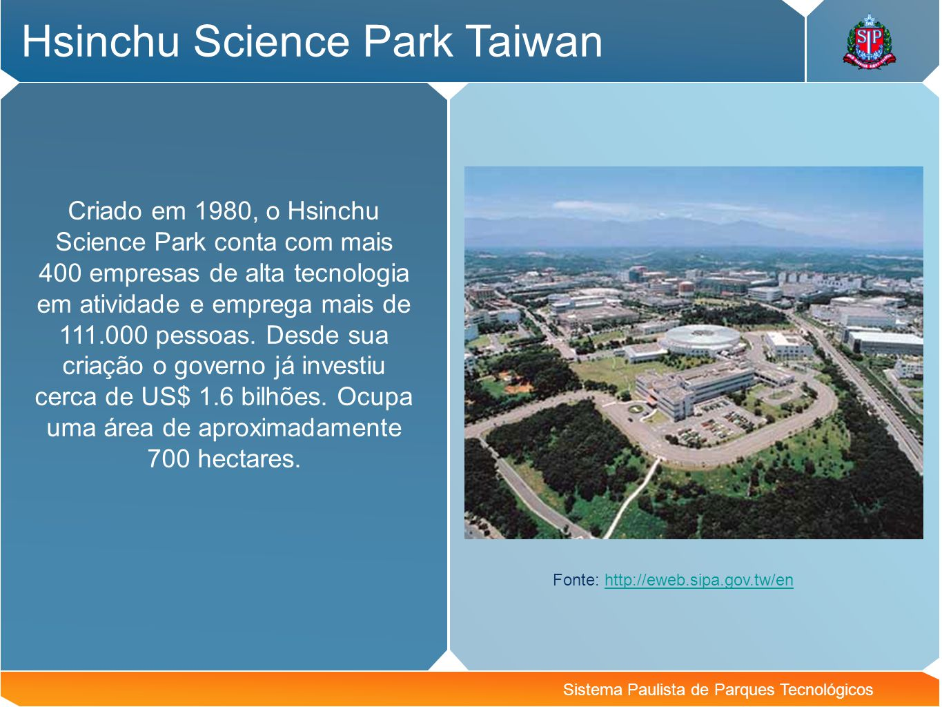 Hsinchu Science Park Taiwan