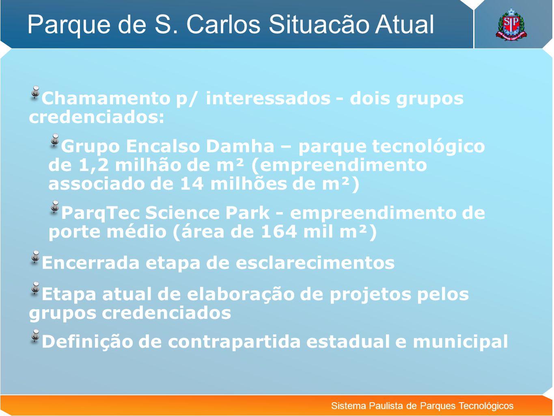 Parque de S. Carlos Situacão Atual