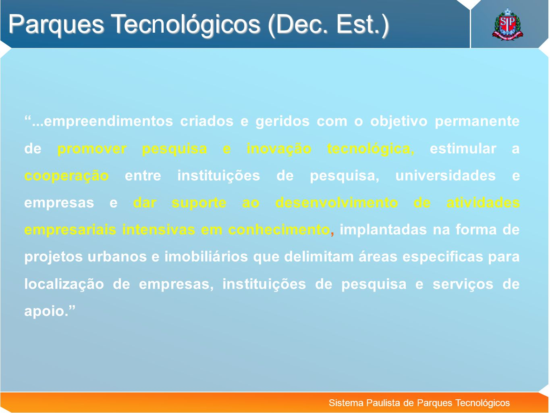 Parques Tecnológicos (Dec. Est.)