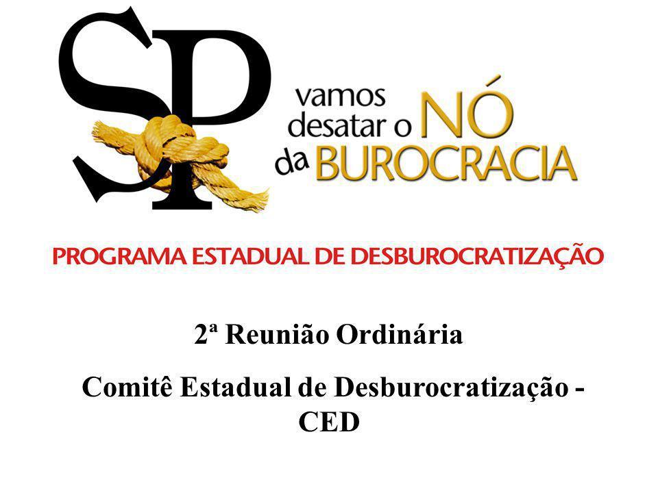 Comitê Estadual de Desburocratização - CED